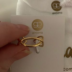 "Gorjana ""Autumn"" open cuff ring"